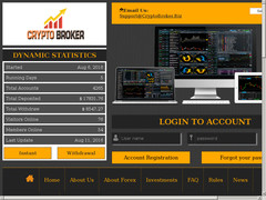Screenshot cryptobroker