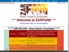 Screenshot zarfund