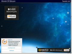 Screenshot world of bitcoin