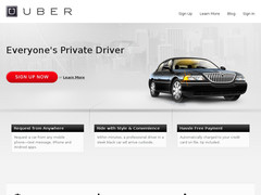 Screenshot Uber