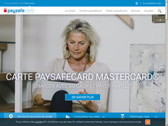 Screenshot paysafe card