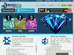Screenshot dimondclix