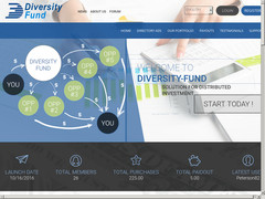 Screenshot diversity fund