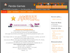 Screenshot panda-games