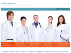 Screenshot devis-services : défiscalisation