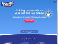 freemoji lottery, Encore une autre loterie gratuite anglaise