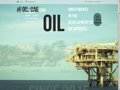 Screenshot oil-uae