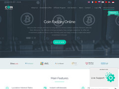 Screenshot coinfactory