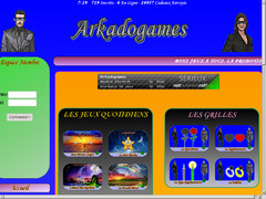 Screenshot arkadogames