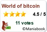 Votez pour world of bitcoin pour gagner de l'argent